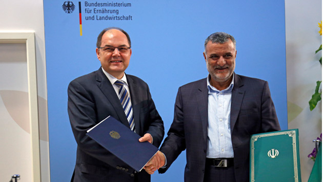 Collaboration Agreements Signed Between Iran and Two Countries, Germany and Slovenia