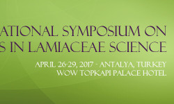 International Symposium on Advances in Lamiaceae Science to be Held in Turkey